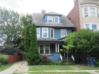 Buffalo Single Family Home For Sale: 443 W Ferry Street