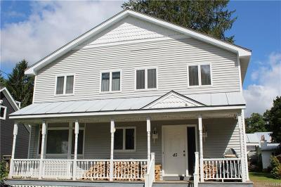 Ellicottville Single Family Home For Sale: 45 Martha Street