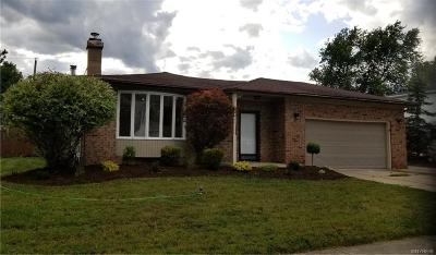 West Seneca Single Family Home For Sale: 33 Cheryl Road