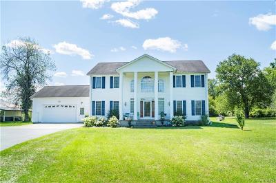 Lockport Single Family Home For Sale: 6386 Tonawanda Creek Road