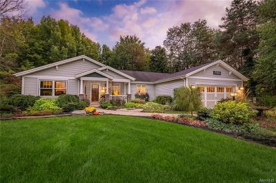 Elma Single Family Home For Sale: 7760 Clinton Street