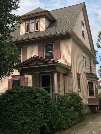 Buffalo Single Family Home For Sale: 58 Claremont Avenue