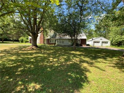 Erie County Single Family Home For Sale: 3172 Zoeller
