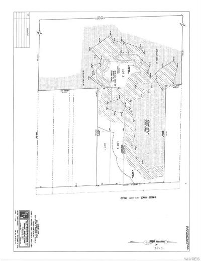 Erie County Residential Lots & Land For Sale: 3342 Lot 1 Sweet Home Lot 2 Road