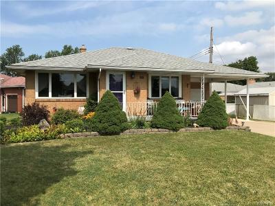 Erie County Single Family Home For Sale: 96 Brinker Road