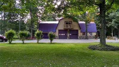Warsaw Single Family Home For Sale: 4821 Stevens Road