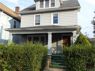 Erie County Single Family Home For Sale: 43 Hunt Avenue