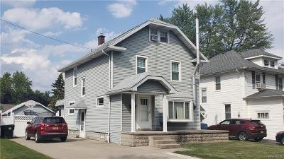 Tonawanda Single Family Home For Sale: 129 Linwood Avenue