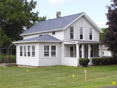 Lewiston NY Single Family Home For Sale: $89,900