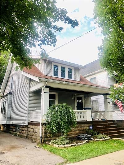 Buffalo Single Family Home For Sale: 51 Prairie Avenue