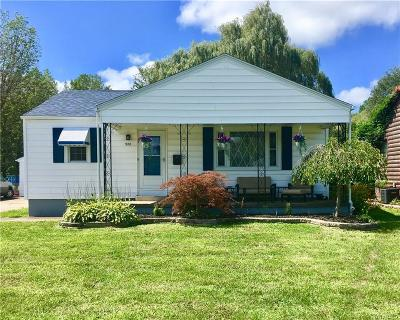Niagara County Single Family Home For Sale: 522 Witmer Road