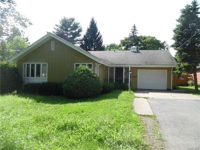 Niagara County Single Family Home For Sale: 165 S 7th Street