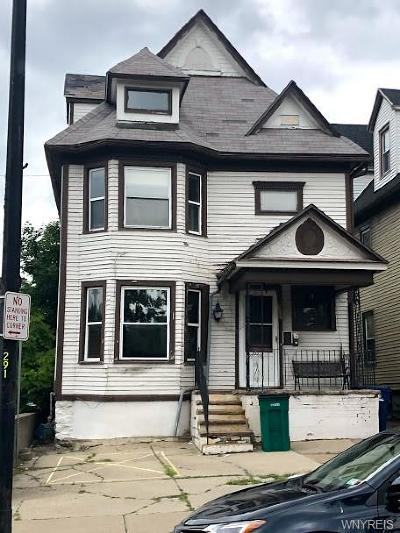Buffalo Single Family Home For Sale: 261 W Utica Street