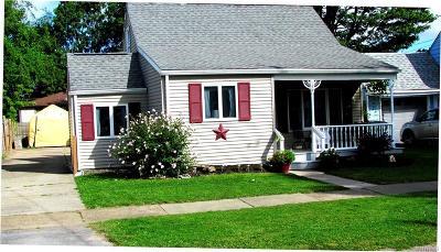 North Tonawanda Single Family Home For Sale: 160 14th Avenue