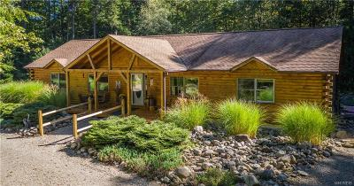 Erie County Single Family Home For Sale: 8053 Hayes Hollow Road