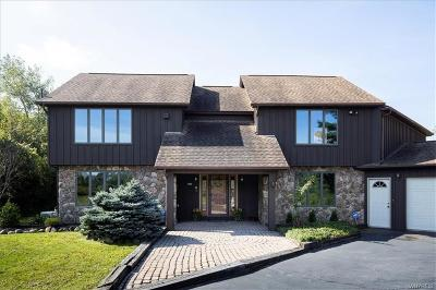 Orchard Park Single Family Home Pending: 7695 Milestrip Road