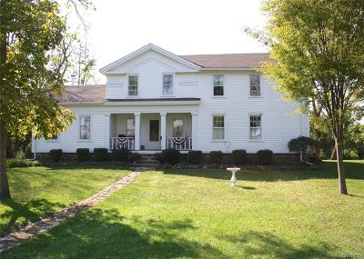 Wilson Single Family Home For Sale: 2784 Maple Road