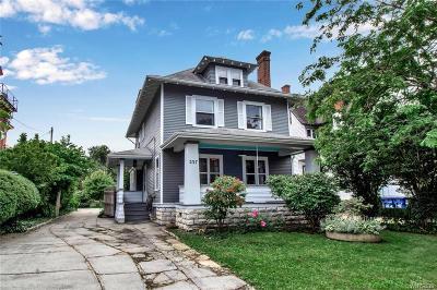 Buffalo Single Family Home For Sale: 237 Lafayette Avenue