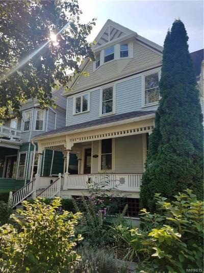 Buffalo Single Family Home For Sale: 322 W Utica Street