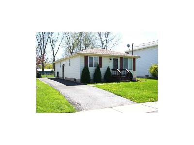 North Tonawanda NY Single Family Home Sold: $89,500