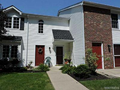Amherst NY Condo/Townhouse S-Closed/Rented: $125,000