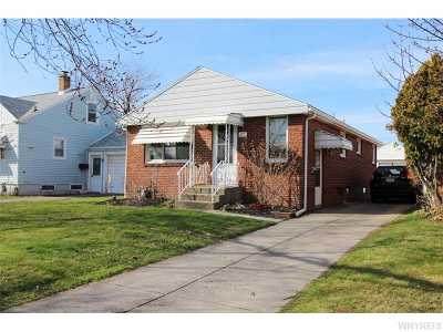 Buffalo NY Single Family Home Sold: $94,737