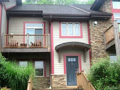 Ellicottville Condo/Townhouse A-Active: 2 Mountainview Upper