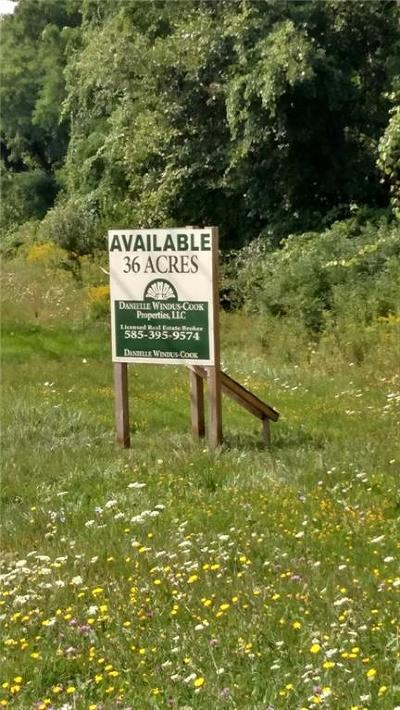 Monroe County Residential Lots & Land A-Active: Brockport Spencerport Road