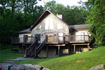 Single Family Home A-Active: 5497 East Lake Road