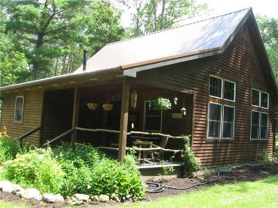 Livonia Single Family Home A-Active: 5107 Old Bald Hill Road