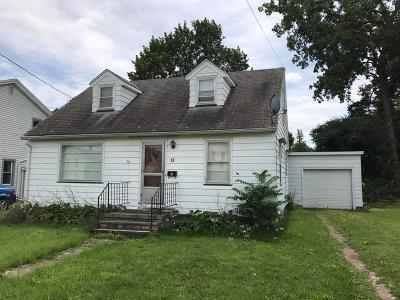 North Dansville NY Single Family Home A-Active: $49,900