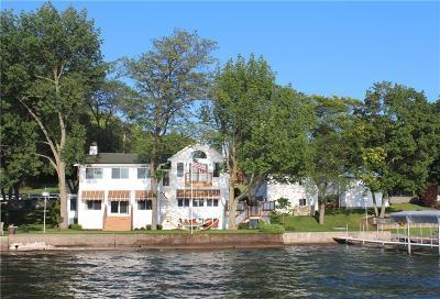 Livonia Single Family Home A-Active: 5218 E Lake Road
