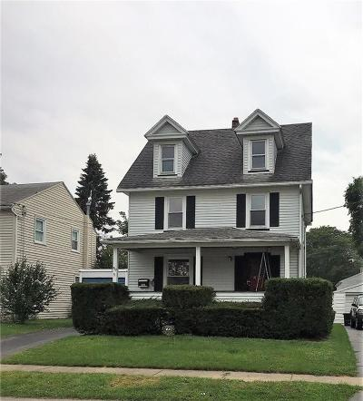 East Rochester NY Single Family Home Sold: $104,900