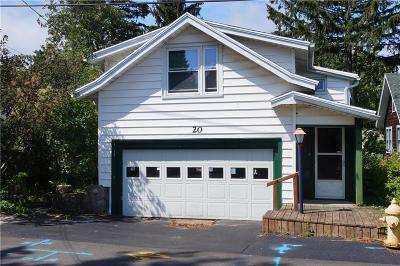 Cayuga County, Monroe County, Ontario County, Seneca County, Yates County Single Family Home A-Active: 20 Tone Terrace