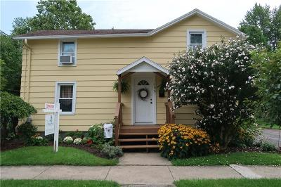 Canandaigua NY Single Family Home Sold: $132,000