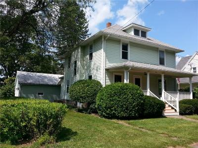 North Dansville NY Single Family Home A-Active: $69,000