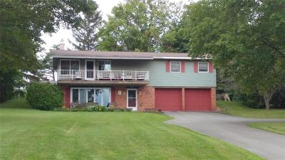 Single Family Home A-Active: 5267 West Lake Road