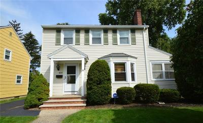 Single Family Home Sold: 458 Harwick Road