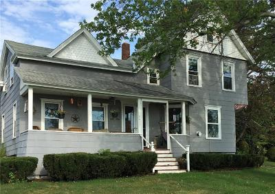 Single Family Home A-Active: 5615 West Lake Road