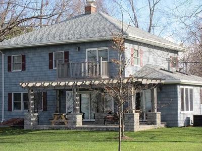 Single Family Home A-Active: 10408 Lake Shore Road