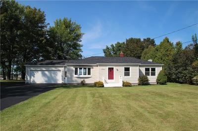 Monroe County Single Family Home A-Active: 7244 Fourth Section Road