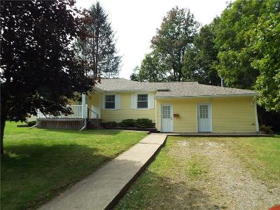 Portville Single Family Home A-Active: 1743 Happy Hollow Road