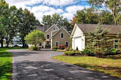 Chautauqua County Single Family Home A-Active: 4077 Lake View Drive