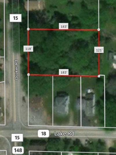 Residential Lots & Land A-Active: 1219 Quaker Road