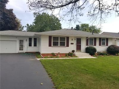 Greece NY Single Family Home P-Pending Sale: $140,000