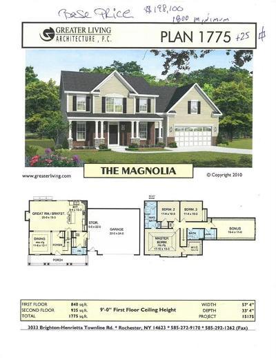 Monroe County Single Family Home A-Active: Lot 605 Fallwood Terrace