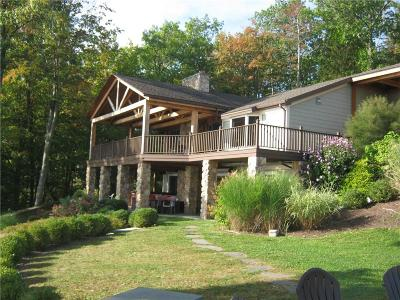 Single Family Home A-Active: 4385 West Lake Road