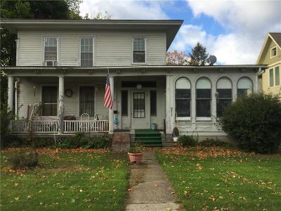 North Dansville NY Multi Family 2-4 A-Active: $72,500