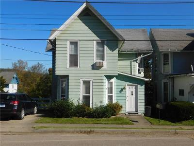 Hornell NY Single Family Home A-Active: $54,900