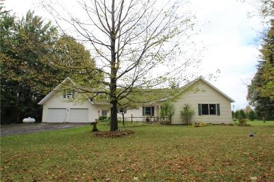 Orleans County Single Family Home U-Under Contract: 3852 Hindsburg Road